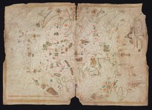 Maps Portolan Chart Of The Aegean Sea And Part Of The Eastern Mediterranean