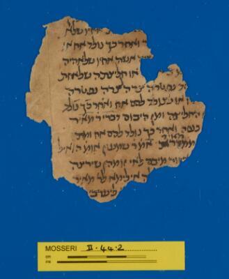 "<bdi class=""metadata-value"">Babylonian Talmud Mosseri II.44.2</bdi>"