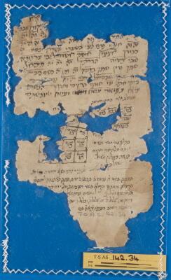 "<bdi class=""metadata-value"">Genizah Fragment 142.34</bdi>"