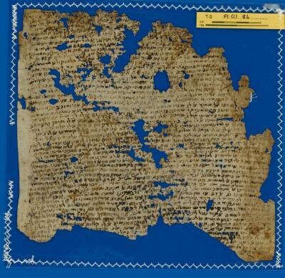 """<bdi class=""""metadata-value"""">Babylonian Talmud (?) T-S F1(1).86</bdi>"""